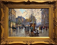 la madeleine, paris [sold] by edouard léon cortès